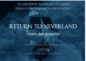 Return to Neverland Charity Ball and Auction