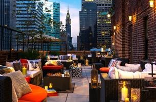Live Music by Muhammad on the Rooftop Terrace