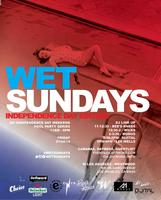 4th of July WET Sundays Pool Party