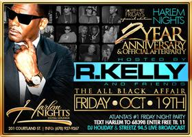 R Kelly Official Afterparty / 2 Year Anniversary @...