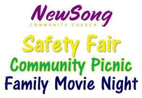 Community Safety Fair, Picnic and Family Movie Night