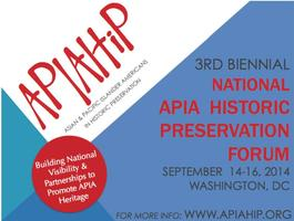 2014 National APIA Historic Preservation Forum