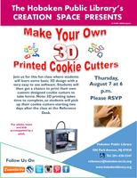 Make Your Own 3D Printed Cookie Cutters