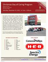 Christmas Day of Caring / Adopt-A-Family Program at HEB