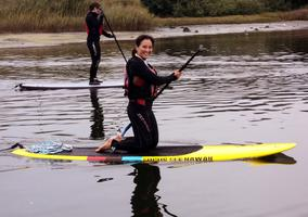 Half Day Playshop: Paddleboard Yoga & Lunch Aug 10...