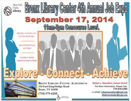 Bronx Library Center's 4th Annual Job Expo