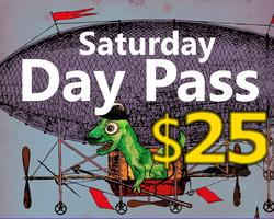 Saturday Day Pass -- Hell Yes Fest