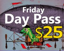 Friday Day Pass -- Hell Yes Fest
