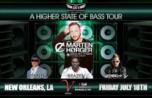 """""""A HIGHER STATE OF BASS TOUR"""" @ V CLUB in NEW ORLEANS"""