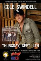 Cole Swindell with Special Guest Backroad Anthem