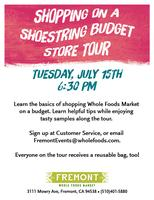 Shopping on a Shoestring Budget Store Tour