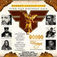 Funkmaster Flex Birthday Event. DJ Khaled, French...