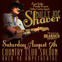 Billy Joe Shaver - Live in Loomis in the Back 40...