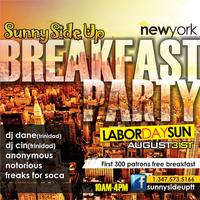 Sunny Side Up New York Breakfast Party