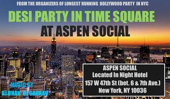 DESI PARTY IN TIME SQUARE - BOLLYWOOD FUZION SUMMER SPECIAL...