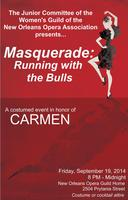 Masquerade: Running with the Bulls