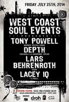 WCS Events - TONY POWELL, LARS BEHRENROTH, DEPTH &...