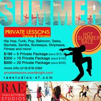 Private Dance & Fitness Lessons