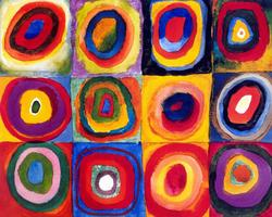 "Creole Canvas - ""Kandinsky Squares"" ( SOLD OUT)"