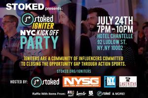 STOKED Igniter Party: NYC