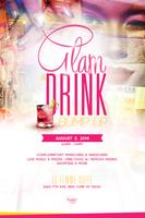 "KARIF Beauty Presents: the ""Glam & Drink Bump Up""..."