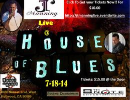 JT Manning Live @ The House Of Blues
