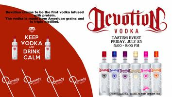 Devotion Vodka Tasting
