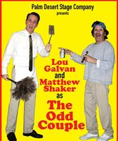 "Palm Desert Stage Company presents ""The Odd Couple""..."