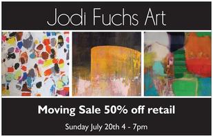 Artist Moving Sale ALL ART 50% off!