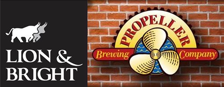 Brews & Brats - Propeller Tap Takeover at Lion & Bright