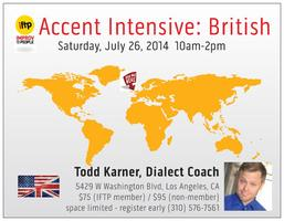 IFTP Accent Intensive: British