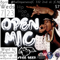 Wolf Juice Open Mic (SignUp) | 7/23
