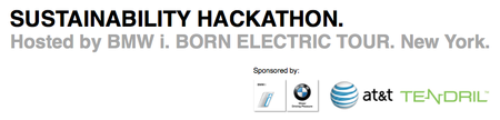 Sustainability Hackathon - hosted by BMW i Born...