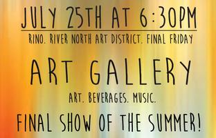 Art Show | Final Party of the Summer! Final Friday of...