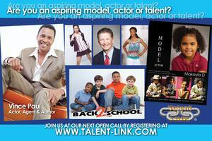 Talent Link Open Call Auditions & Parent Info Session...