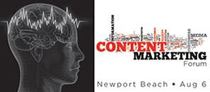 The B2B Content Marketing Forum and Newport Harbor...