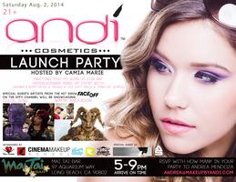 Andi Cosmetics Launch Party