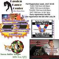 National Dance Day at Passion Dance Center (Free Dance...