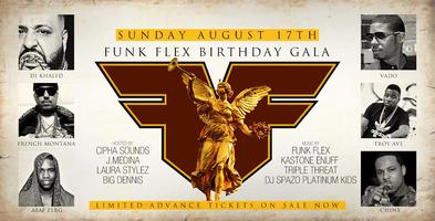 FUNK MASTER FLEX CELEBRITY BDAY BASH AT SALSA CON FUEGO