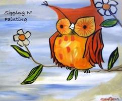 Sip n' Paint Hoot! Wednesday, September 10th, 6:00pm