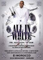 EventBrice Presents THE ALL WHITE PARTY!!! FRIDAY JULY...