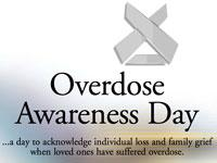 NYC Dept of Health Overdose Prevention Awareness Day