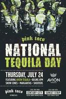 Celebrate National Tequila Day at the Pink Taco!