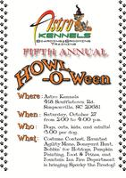 Astro Kennels HOWL-o-ween - a dog event!