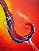 "Creole Canvas - ""Wine O' Clock"" -  (SOLD OUT)"