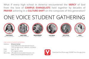 One Voice Student Gathering Southern California