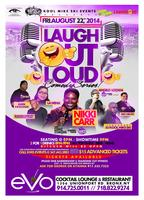 Laugh Out Loud Comedy Series @ Evo Cocktail Lounge &...