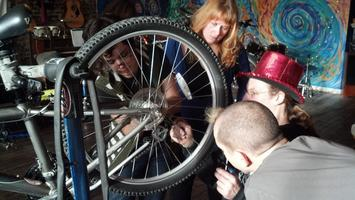 Don't Get Stranded Bicycle Repair Class