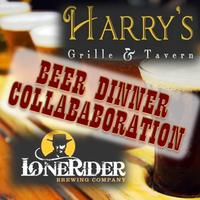 Harry's & Lonerider Beer Dinner Collaboration