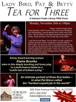 """Live Theatrical Performance: """"Tea for Three"""" with..."""